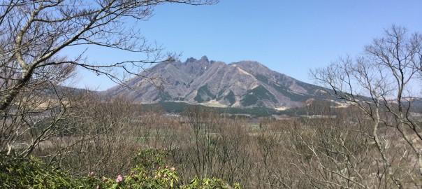 遠見塚展望所から見る根子岳